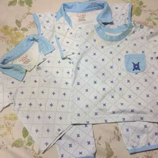 Pre-loved shirts and pyjamas for 6-9mos baby boy