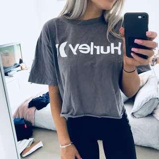 Hurley Crop T shirt