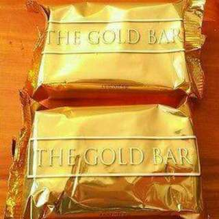 [Authentic] Gold Bar Soap