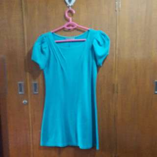 Betty's Blue Green Dress