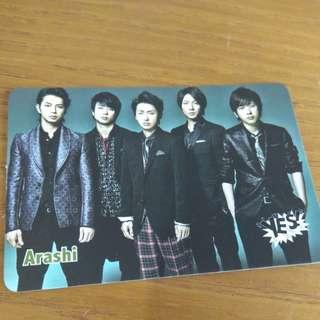 Arashi yes card