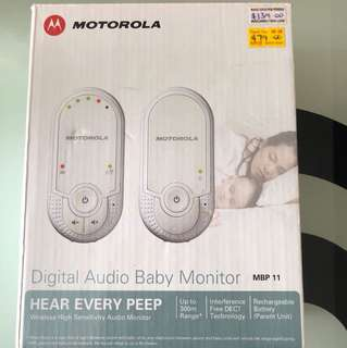 Used Motorola Digital Audio Baby Monitor