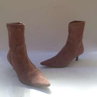 Pink Heel Boots