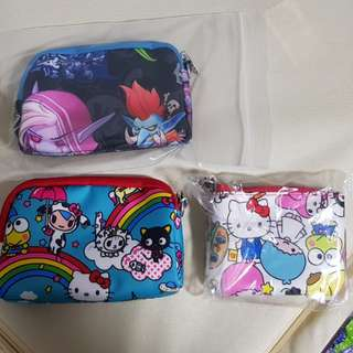 Brand New/unused Small set pc and coin purse