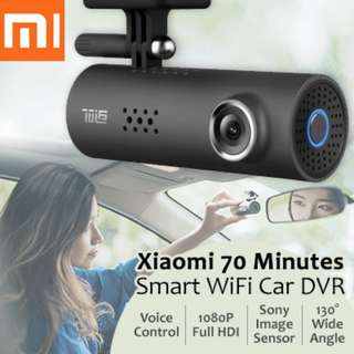 Xiaomi 70 Mai 1080P Full HD Wireless Car Recorder Camera Mini Smart WiFi Night Vision