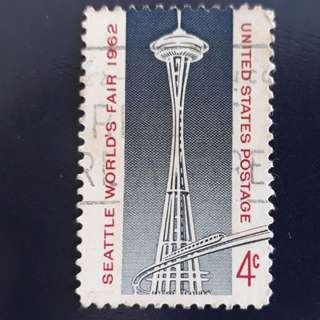 USA stamp. 1962-04-30. Seattle World's Fair 1962.