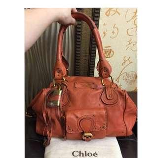 🚚 Chloe' 正品經典款鎖頭包
