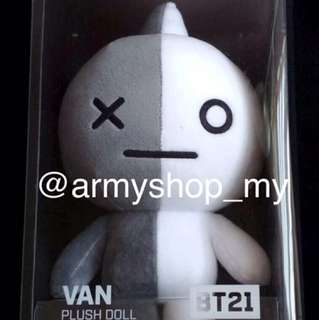 [READYSTOCK] BT21 VAN STANDING DOLL