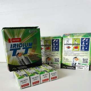 Brand New In Box Denso Iridium TT Spark Plug IKBH20TT / IXEH20TT / IXEH22TT / IXEH20ETT / IK16TT / IK20TT / IKH20TT