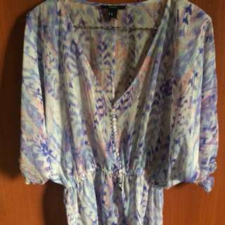 Forever 21 Hippie Summer Top (pre-loved)