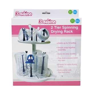 Bambino 2 Tier Spinning Drying Rack