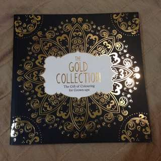Gold Collection Coloring Book