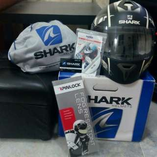 SBK Shark S600 Full-Face Helmet (Original)