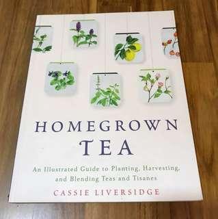Wellness book - Homegrown Tea (Cassie Liversidge)