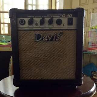 Davis 10watt Amplifier with distortion