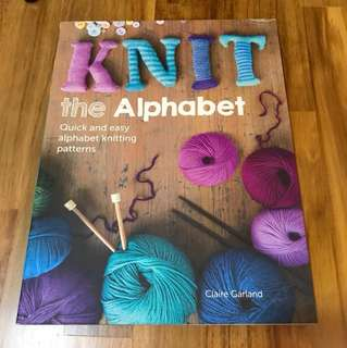 Needle work book - Knit, The Alphabet (Claire Garland)