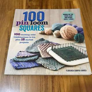 Needle work book - 100 pin loom squares (Florencia Campos Correa)