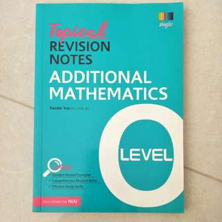 O Level A Math Revision Notes