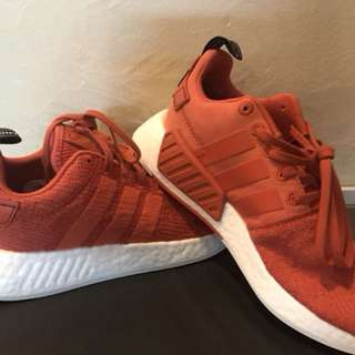 0ecd3d055 Adidas Nmd R2 FUTURE Harvest orange colouray
