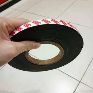 5metre x 2mm 3M magnet tape