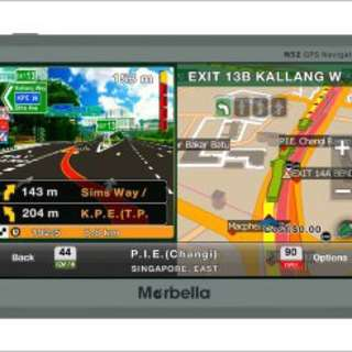 Marbella N52 GPS Car (CNY Flash Sale!)  #Huat50sale