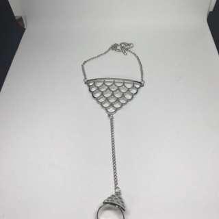 Ring and bracelet set - japan