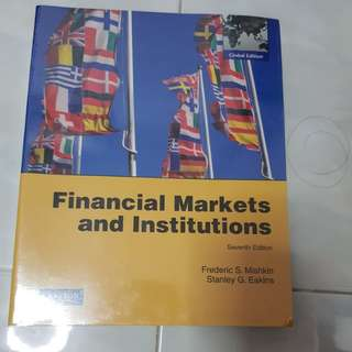 Financial market and institution textbook