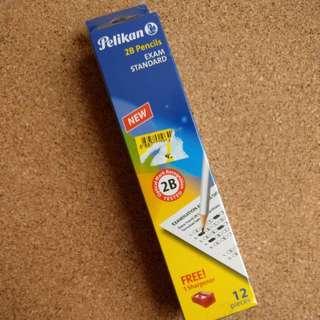 Pelikan 2B pencils