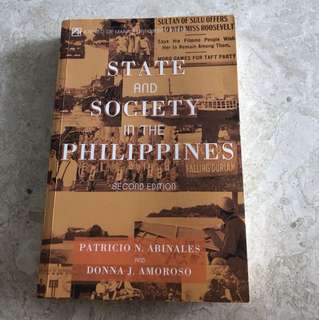 State & Society in the Philippines