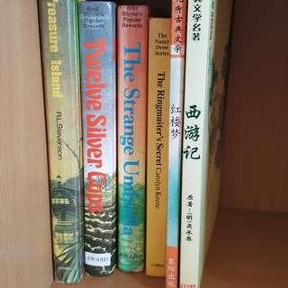 Novels (English & Chinese)