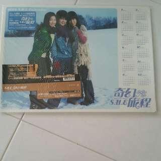 S.h.e 2003 desk Calendar