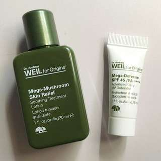 ORIGINS Dr Weil Mega-Defense Sunblock & Soothing Treatment Lotion