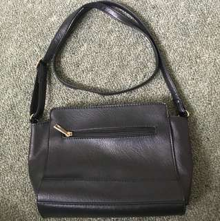 Black classic shoulder bag