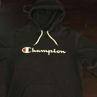 Champion Hoodie Charcoal Black