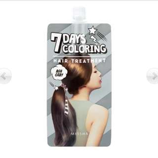 Missha 7 days temporary hair dye
