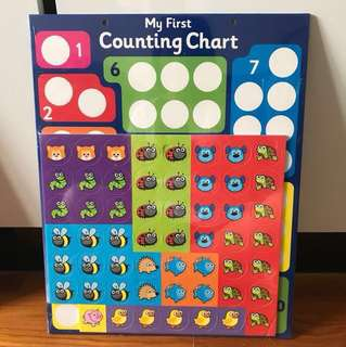Magnetic My First Counting Chart