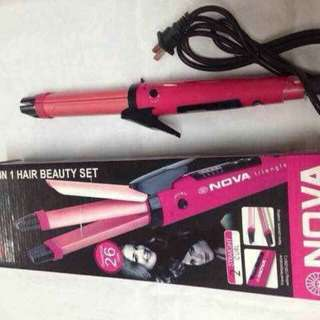 Nova 2in1 Straightener&Curler