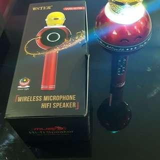 Handheld KTV Wireless Microphone HIFI Speaker