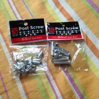 Post Screws Buy 1 Take 1