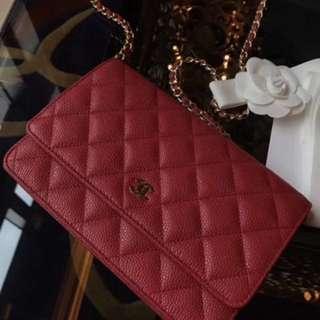 Chanel WOC 新年紅色