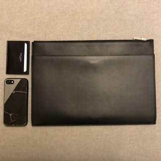 Ysl saint Laurent 名牌 slp 手拿包 clutch 男女通用