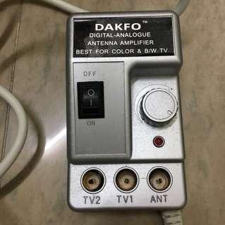 電視 訊號加強器 antenna amplifier