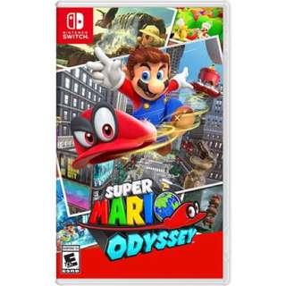 收 switch game Mario Odyssey