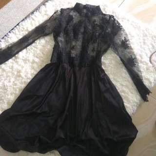 Dress Brukat Kebaya Modern