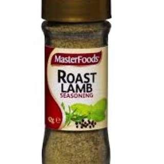 Master foods Lamb Roasting Seasoning