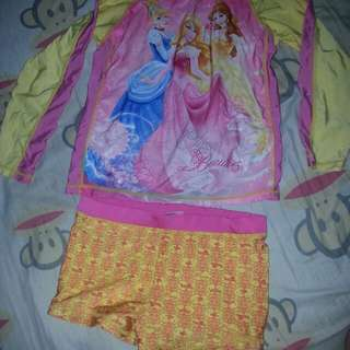 Disney orig.fits upto 6yr old.swimwear