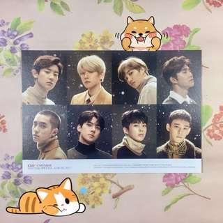 EXO Winter Album Special Postcard