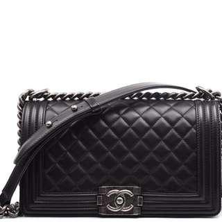 Chanel Boy Caviar leather - Limited edition bc5d94888922f