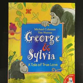 George and Sylvia: A Tale of True Love英文圖書 兒童繪本