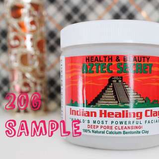 20g Aztec Indian Healing Clay Mask Sample